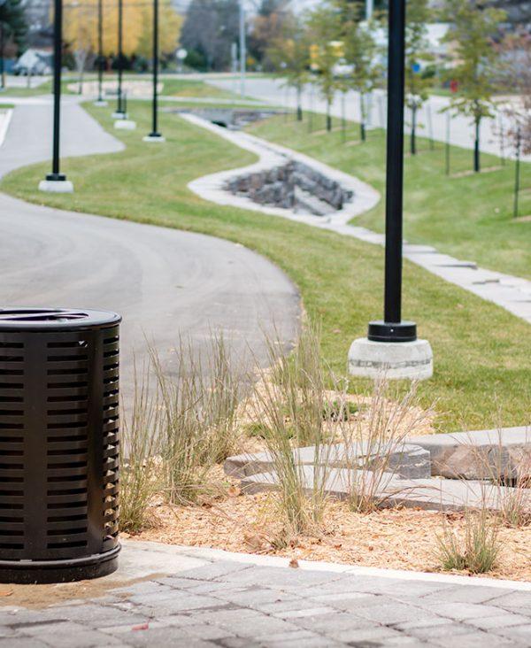 Urban Park Trash