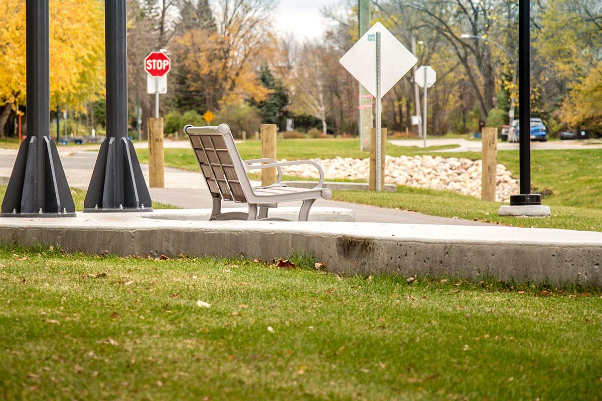 Urban Park Bench