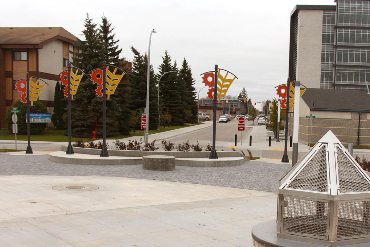 Urban Park Custom Pole Banner