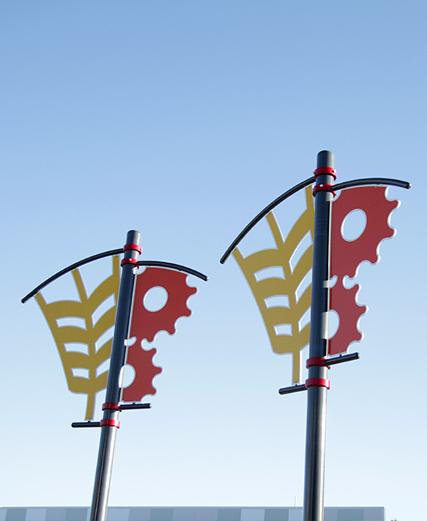 Urban Park Custom Pole Banner