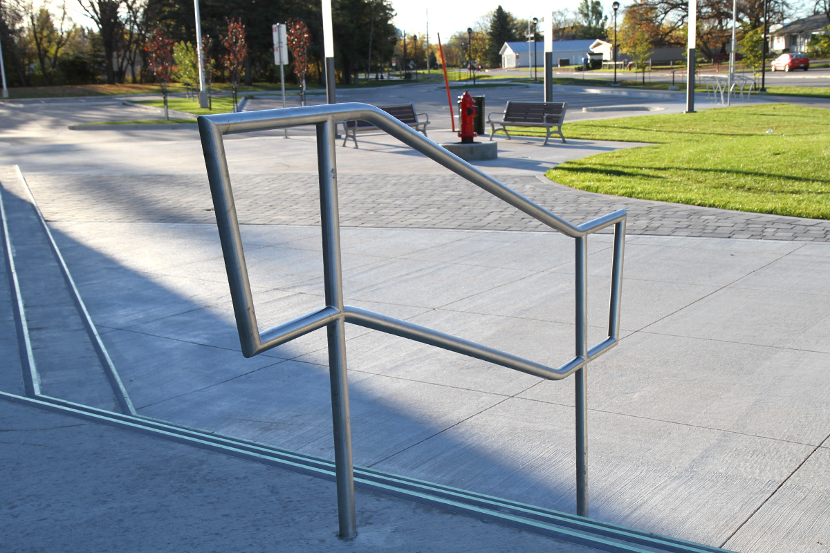 Urban Park Custom Steel Railings
