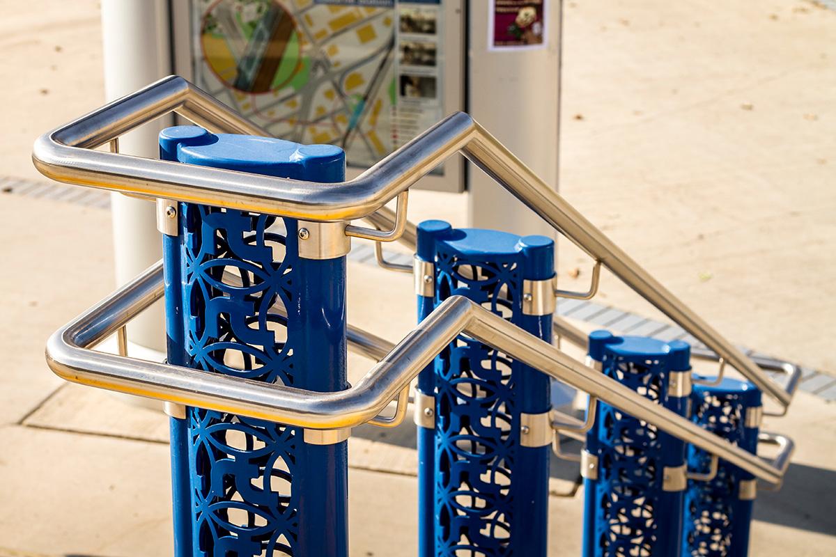 Urban Park Custom Steel Railings