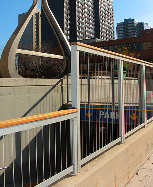 Urban Park Custom Wire Railing