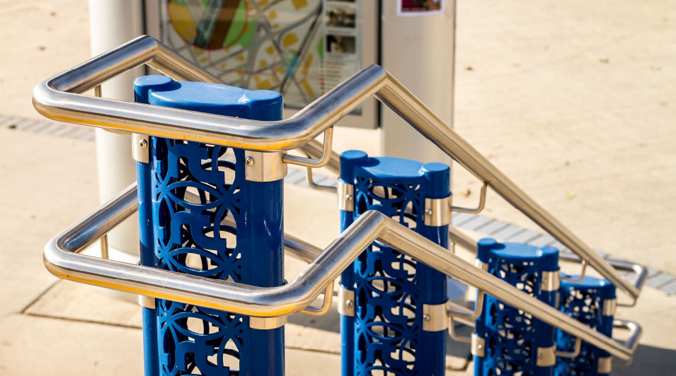 Urban Park Railings & Barrier Products